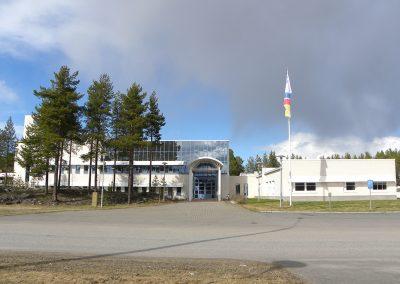 Tornionlaakson Sähkö Oy, toimitilat, Pello
