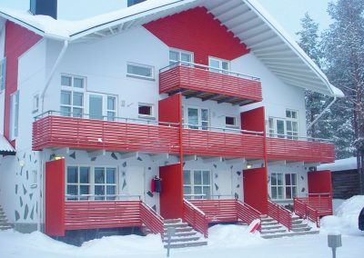 A chalet in Levi.