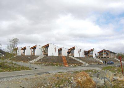 Loma-asuntoryhmä Kilpisjärvellä