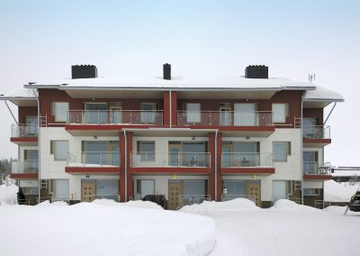Holiday apartments, Ylläsjärvi.