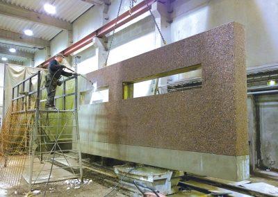 Vaskbar betongflate.